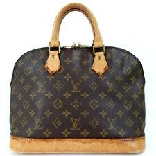 Authentic LOUIS VUITTON M51130 Monogram Alma Handbag leather/leather[Used]