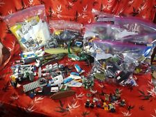 LARGE 15 LB LOT OF MISC LEGO BIONICLE TECHNIC CASTLE KNIGHTS MARVEL ATLANTIS