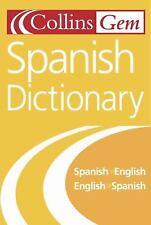 Collins Gem Spanish Dictionary, 6e  (ExLib)