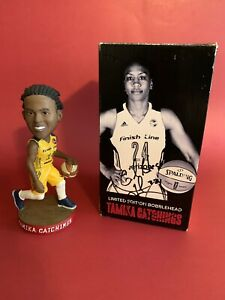 Tamika Catchings Bobblehead in Autographed Box