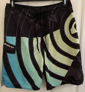 Quiksilver Kelly Slater Mens Boardshorts Swim Trunks Size 34