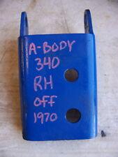 1970 DODGE DART PLYMOUTH DUSTER 340 RH MOTOR MOUNT OEM 1968 1969 1971 1972
