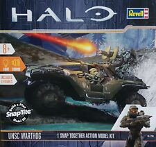 REVELL® 85-1766 HALO UNSC Warthog incl. 3 Figuren mit Light & Sound in 1:32
