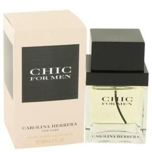 Chic by Carolina Herrera Eau De Toilette Spray 2 oz for Men