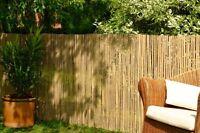 Bamboo Slat Fencing Screening Rolls 4M Garden Outdoor Privacy - Best Artificial
