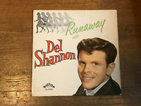Del Shannon LP - Runaway - Big Top Records 12-1303 1961 Mono