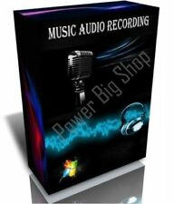 Music-Audio Recording for PC Editing Studio Mp3 Sound Multilingual Software