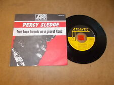 PERCY SLEDGE - TRUE LOVE TRAVELS ON A GRAVEL ROAD - FAITHFUL AND TRUE  / LISTEN