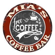 CFCB-0743 MIA'S COFFEE BAR Sign Mother's Day Housewarming Christmas Gift