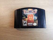 Turok 3 Shadow of Oblivion (Nintendo 64 N64) [Authentic Game Cartridge]