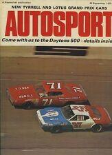 AUTOSPORT 25th SETTEMBRE 1975 * NUOVO JPS Lotus F1 AUTO Lancio *