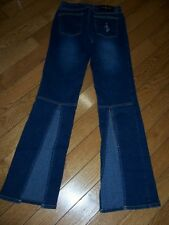 BABY PHAT JEANS WITH LEG OPENING SIZE 9 MEASURE 26 X 32 AWESOME LOOK