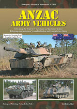 TANKOGRAD 7028 ANZAC ARMY VEHICLES: VEHICLES OF THE MODERN NEW ZEALAND AND AUSTR