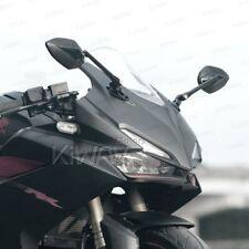 Black Venom fairing mirrors black adapter adjustable for Kawasaki Ninja ZX ZZR