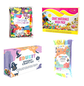 Edukit Craft Kits - Suitable For Kids & Adults - Crafting Material Packs
