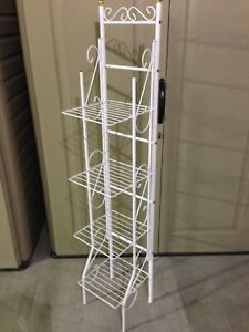 4-Tier Shelf Display Rack Kitchen Bathroom Storage Wire Shelves Organizer