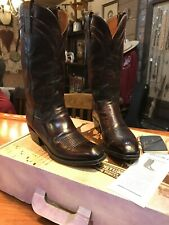 Vintage Lucchese Classic Cowboy Boots P0552 Mens 9H D Barely Worn