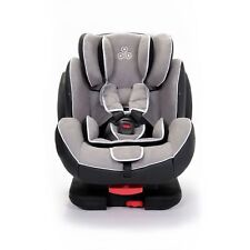 Solar Group 1-2-3 Isofix and Recline Car Seat in Light Grey