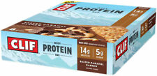 Clif Bar Whey Protein Bar: Caramel Cashew, Box of 8