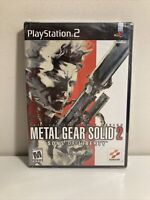 Metal Gear Solid 2: Sons of Liberty PS2 Brand New Sealed!