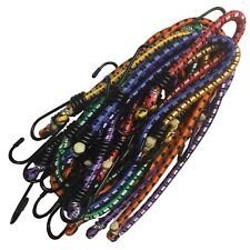 12 x résistant tendeur câbles Valise élastique crochet cordes Valise Sac à dos