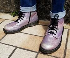 bottes Dr MARTENS taille 36 UK 3 Glitter Pink rose pale 1460 Delaney