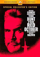 The Hunt for Red October DVD Sean Connery Movie - REGION 4 AUST