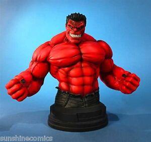 Gentle Giant Red Hulk PX Mini Bust 151/600 Marvel Avengers NEW SEALED
