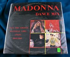 MADONNA RARE PERU DANCE MIX 12'' VINYL LP DISC RECORD 1986 No Promo Unique Cover