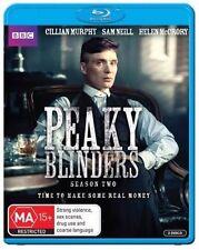 Peaky Blinders Season 2 Blu-ray Region B Aust Post