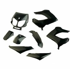 Kit carénages Derbi Senda, Gilera Smt Rcr 2000 - 2010 Fairing plastics NEW Black