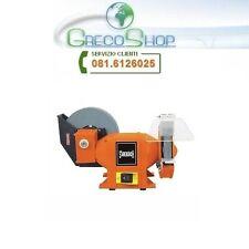 Smerigliatrice da banco con mola acqua 150/200mm 250W