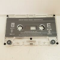 Snoop Doggy Dogg Doggystyle 1993 Cassette Tape Death Row Records NO CASE ARTWORK