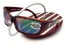 NEW Costa Del Mar CABALLITO Tortoise & 580 Green Mirror Glass 580G