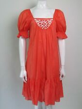 MILLY CABANA SIZE M UK 10-12 BEADED BEACH COVER UP DRESS AUTHENTIC