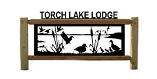 DUCK HUNTING - CLINGERMANS OUTDOOR SIGNS - WATERFOWL - DUCKS UNLIMITED