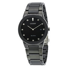 Citizen Axiom Black Dial Mens Watch AU1065-58G