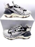 Nike React Vision Vast Grey Sail Men Running Shoes Sneakers CD4373-005 Sz 6.5