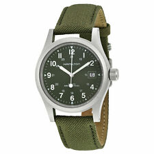 Hamilton Khaki Field Mechanical Green Dial Men's Watch H69419363