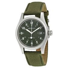 Hamilton Khaki Field Mechanical Green Dial Men's Watch H69419363