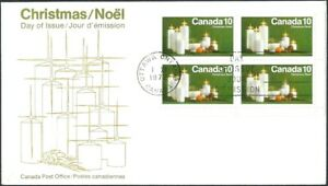 Canada  # 608 Tagged LRbk   CHRISTMAS CANDLES   Brand New 1972 Unaddressed Issue