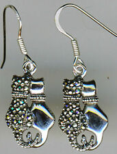 Unbranded Natural Marcasite Drop/Dangle Fine Earrings