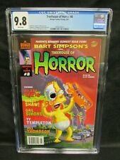 Simpsons: Treehouse of Horror #8 (2002) Bongo Comics CGC 9.8 U552