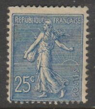 France - 1903, 25c Blue Sower stamp - M/M - SG 318