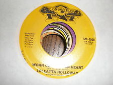 Loleatta Holloway 45 Worn Out Broken Heart GOLDMINE