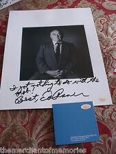 "ED ASNER-Autograph Signed Photo ""I Got Nothing to do with the Mob!""- IPI AUTHEN."