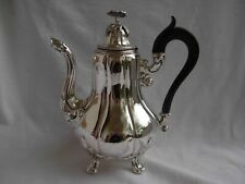 ANTIQUE FRENCH STERLING SILVER COFFEE,TEA POT,LOUIS XV STYLE,MIDDLE CENTURY