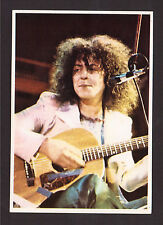 Marc Bolan T. Rex Vintage 1973 Panini Italy Pop Rock Music Sticker #91