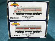 Athearn Genesis Fort Worth & Denver FW&D  F7A/B Freight Set Discontinued New