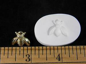 Honey Bee Polymer Clay Mold (#MD1333)